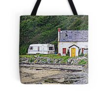Abandoned By The Shore Tote Bag