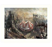 Zombie Circus Art Print