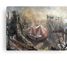 Zombie Circus Metal Print
