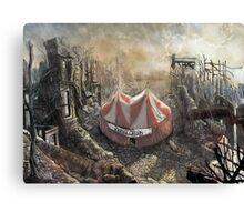 Zombie Circus Canvas Print