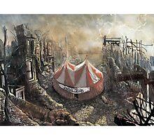 Zombie Circus Photographic Print