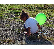 Balloon Girl II Photographic Print