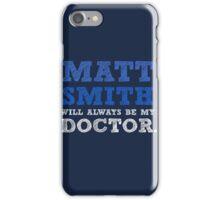 Matt smith dr who iPhone Case/Skin