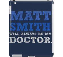 Matt smith dr who iPad Case/Skin