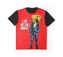 Elephant Man, I am not an animal Graphic T-Shirt