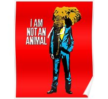 Elephant Man, I am not an animal Poster