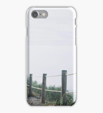 Hazy fence iPhone Case/Skin