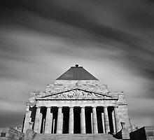 The Shrine of Remembrance by 98octane