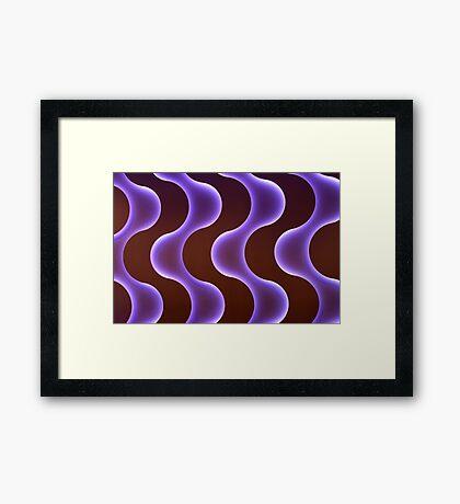 ~ brain waves ~ Framed Print