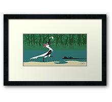 Buitreraptor Framed Print