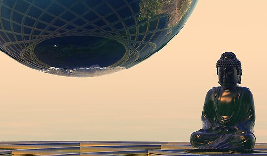 In Contemplation of the Earth (CU) by Hugh Fathers