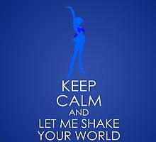 Keep Calm - Sailor Uranus Iphone by SimplySM