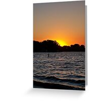 Twilight Oasis Greeting Card