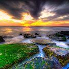 Sunrise on the rocks by Euge  Sabo