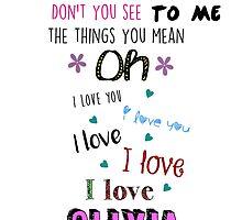 One Direction - Olivia by LarryDickSquad