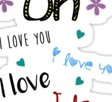 One Direction - Olivia Sticker