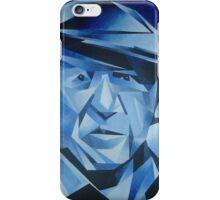 Cubist Portrait of Pablo Picasso: The Blue Period iPhone Case/Skin