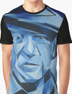 Cubist Portrait of Pablo Picasso: The Blue Period Graphic T-Shirt