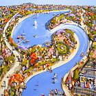 Along the river by Adam Bogusz