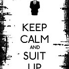 Suit up by Chrome Clothing