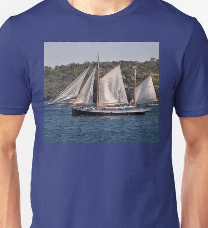"""Tecla"", Tall Ships Departure, Manly, Australia 2013 Unisex T-Shirt"