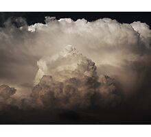 Cumulus B&W Photographic Print