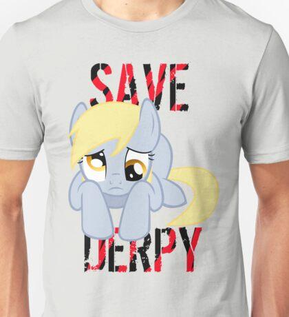 Save Derpy Unisex T-Shirt