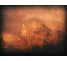 Cumulus Red Photographic Print