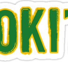 Loki'd tee Sticker
