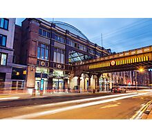 Pearse Train Station, Dublin Photographic Print