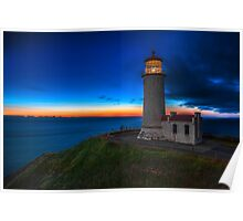 North Head Lighthouse Twilight Poster