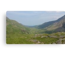Welsh Valley 1 Canvas Print