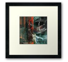 Ingress and Egress - digital Framed Print
