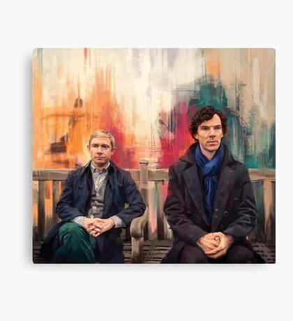 Watson & Sherlock Canvas Print