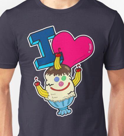 I Love Triple Goober-Berry Sunrise  Unisex T-Shirt
