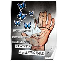 Catching Paper Butterflies Poster