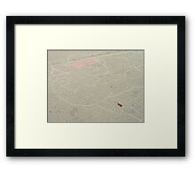 Works Out A Lot Framed Print