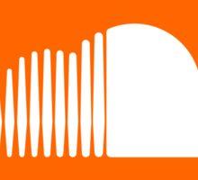 Soundcloud Icon Orange Cloud Sticker