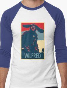 WILFRED - Posterized Men's Baseball ¾ T-Shirt