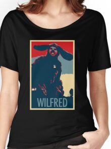 WILFRED - Posterized Women's Relaxed Fit T-Shirt