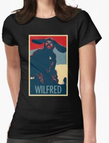 WILFRED - Posterized Womens Fitted T-Shirt