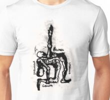 Contortions - Blurred & Distorted. Unisex T-Shirt