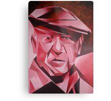 Cubist Portrait of Pablo Picasso: The Rose Period Metal Print