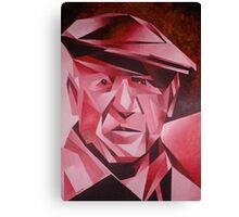 Cubist Portrait of Pablo Picasso: The Rose Period Canvas Print