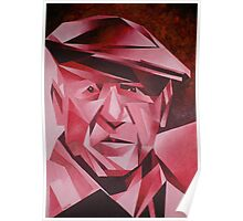 Cubist Portrait of Pablo Picasso: The Rose Period Poster