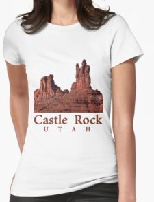 Castle Rock Womens Fitted T-Shirt