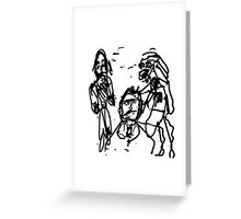 Consternation Nation Greeting Card