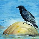 Raven and Rock by Laura Lea Comeau