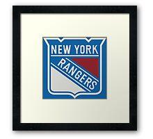 Ranger New York sport Framed Print