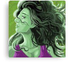 She Hulk Canvas Print